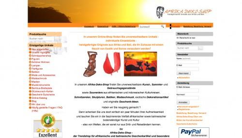 Firmenprofil von: Afrika Deko Shop in München