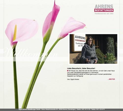 Firmenprofil von: Beerdigungen in Bremen: Ahrens Bestattungen GmbH