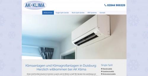 Firmenprofil von: Klimatechnik in Duisburg