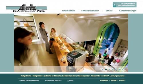 Firmenprofil von: Alleritz-Automaten - Die Automatenprofis in Berlin