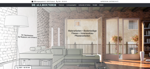 Firmenprofil von: Ihr Partner für eine professionelle Sanierung in Rostock: De Allrounder Scheibner