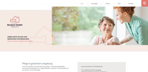 Firmenprofil von: Ambulante Pflege von Bechert GmbH Pflegeservice in Erlangen