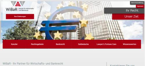 Firmenprofil von: Kanzlei für Wirtschafts- und Bankrecht: Ihr Ansprechpartner rund um das Thema Zwangsversteigerung und Kreditrecht