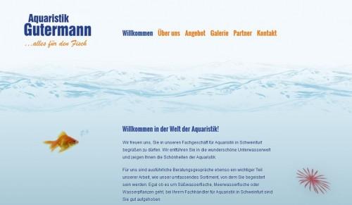 Firmenprofil von: Langjährige Erfahrung: Aquaristik Gutermann in Schweinfurt