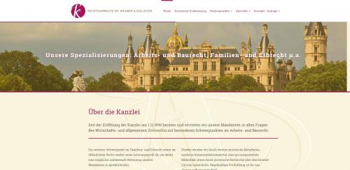 Firmenprofil von: Arbeitsrecht in Schwerin: Rechtsanwälte Dr. Kramer und Kollegen