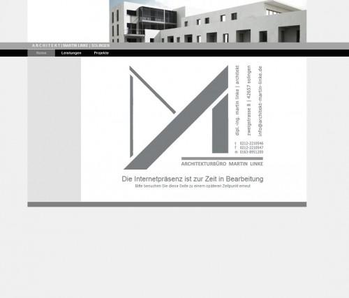 Firmenprofil von: Architekt Martin Linke in Solingen