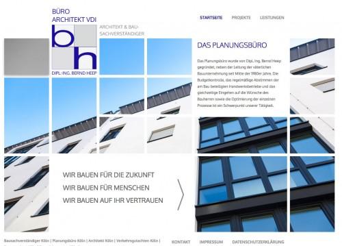 Firmenprofil von: Bauplanung mit Architekturbüro Bernd Heep in Köln
