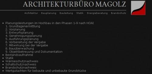 Firmenprofil von: Architekturbüro Magolz in Wittenberge
