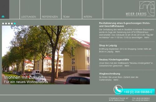 Firmenprofil von: MEIER-EBBERS Architekten und Ingenieure in Oberhausen