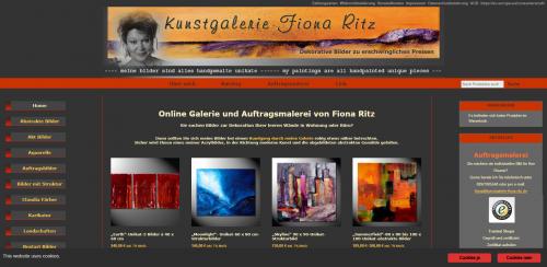Firmenprofil von: Kunstgalerie Fiona Ritz – dekorative Kunst aus München