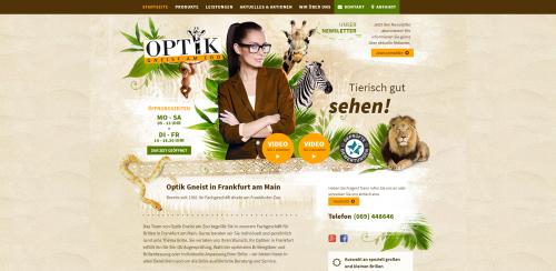 Firmenprofil von: Augenoptik in Frankfurt – Optik Gneist am Zoo