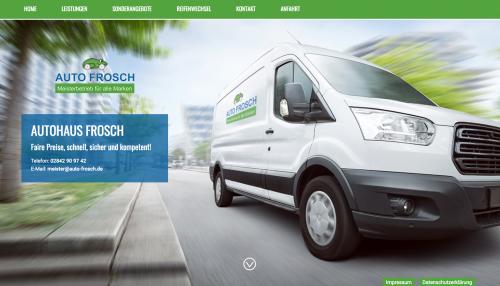 Firmenprofil von: Experten für Autoreparatur: Auto Frosch in Kamp-Lintfort