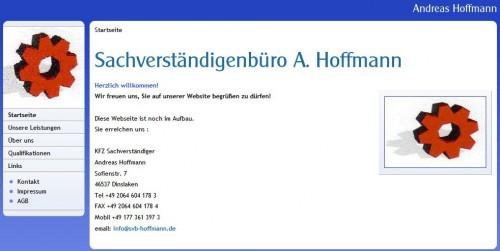 Firmenprofil von: Sachverständigenbüro Andreas Hoffmann in Dinslaken