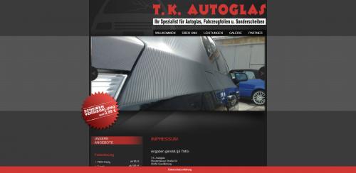 Firmenprofil von: Die Fachmänner für Dienstleistungen rund um Ihr Auto: T. K. Autoglas in Quedlinburg