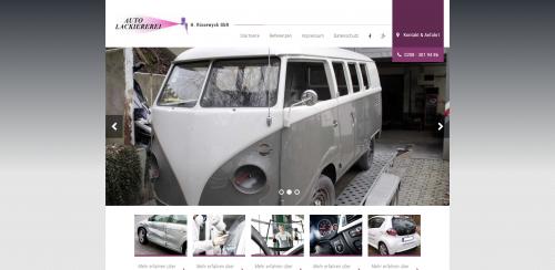 Firmenprofil von: Autolackiererei mit Profil – H. Rissewyck in Mülheim