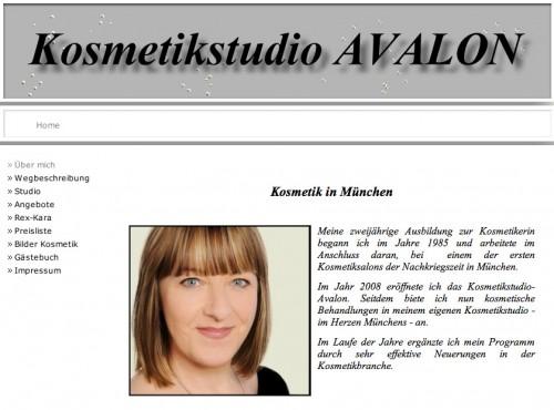 Firmenprofil von: Kosmetikstudio Avalon in München