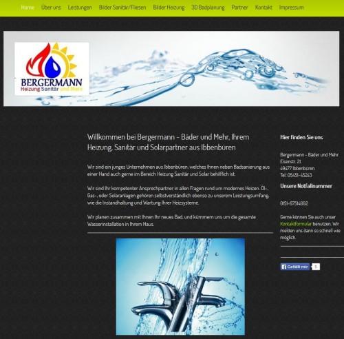 Firmenprofil von: Badsanierung in Ibbenbüren: Bergermann Bäder und mehr