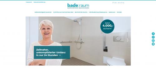 Firmenprofil von: Selbstständige Hygiene – auch im Alter: Barrierefreie Dusche statt Wanne