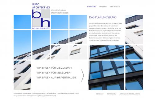Firmenprofil von: Der Bau-Profi: Architekt und Sachverständiger Heep