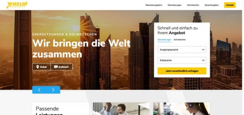 Firmenprofil von: World Contact Übersetzungsbüro GmbH – Ihr Experte in Gera für Übersetzungen