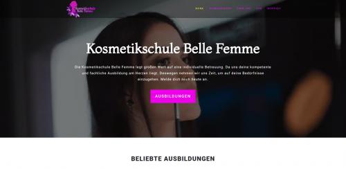 Firmenprofil von: Belle Femme – die Kosmetikschule in Hessen