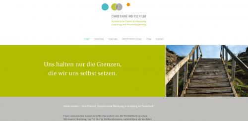 Firmenprofil von: Systemische Beratung für alle Lebenslagen: Praxis Christiane Hoffschildt