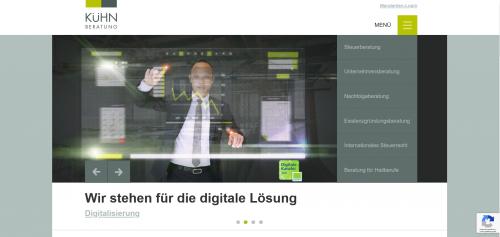 Firmenprofil von: Ihr starker Partner für Steuererklärungen in Aalen: Kühn BERATUNG GmbH