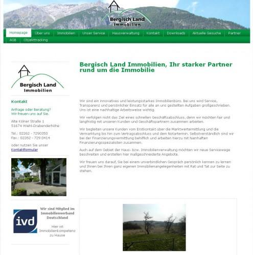 Firmenprofil von: Bergisch Land Immobilien Tanja Schebesta-Michaely in Wiehl-Drabenderhöhe