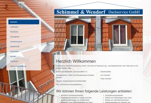 Firmenprofil von: Schimmel & Wendorf Dachservice GmbH – Berlins Dachservice Nr. 1