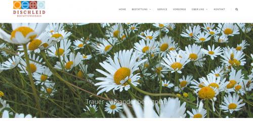 Firmenprofil von: Ihre Ansprechpartner für die Bestattungsvorsorge in Düsseldorf: Bestattungen Dischleid GmbH & Co. KG