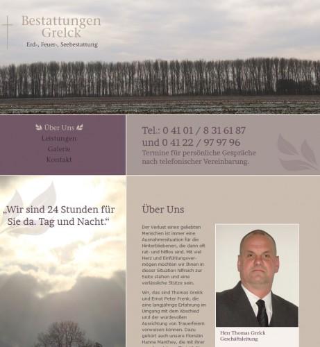 Firmenprofil von: Bestattungen Grelck in Pinneberg