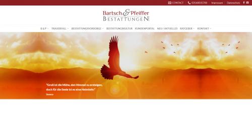Firmenprofil von: Ihre Bartsch & Pfeiffer Bestattungen GmbH in Spremberg