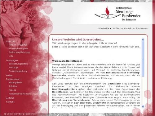 Firmenprofil von: Bestattungshaus Sternberg-Fassbender GbR in Hennef