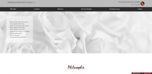 Firmenprofil von: Ihr Partner für Friedwaldbestattungen in Plochingen: Dormann Bestattungen Ltd.