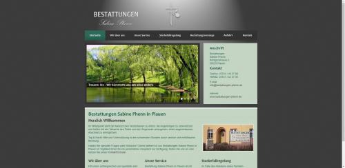 Firmenprofil von: Würdevolle Bestatter im Todesfall: Bestattungen Sabine Phenn in Plauen