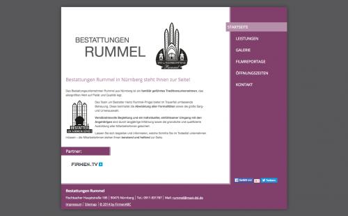Firmenprofil von: Pietätvolle Bestattungen in Nürnberg: Bestattungen Rummel