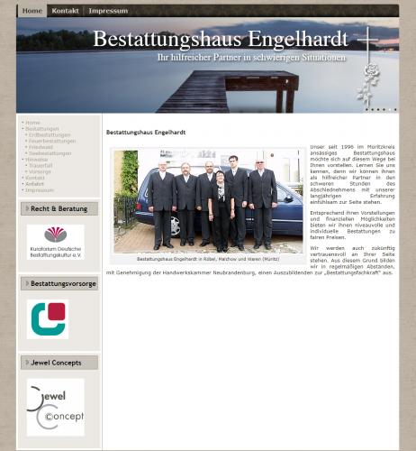 Firmenprofil von: Niveauvolle Bestattungen in Röbel – Bestattungshaus Engelhardt