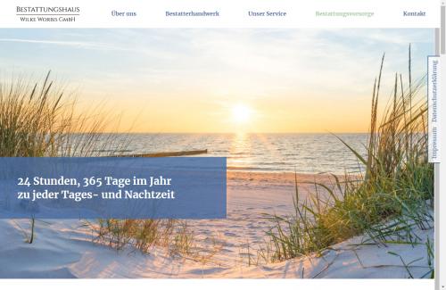 Firmenprofil von: Professionelle Bestattungsvorsorge: Wilke Worbis GmbH