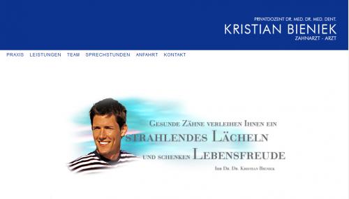 Firmenprofil von: Zahnarzt in Wuppertal: Privatdozent Dr. med. Dr. med. dent. Kristian Bieniek