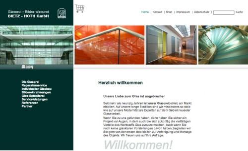Firmenprofil von: Glaserei-Bilderrahmerei Bietz-Hoth GmbH in Berlin