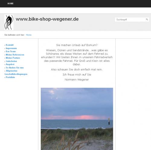 Firmenprofil von: Bike-Shop auf Borkum