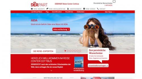 Firmenprofil von: Reisebüro in Cottbus: DERPART Reise Center