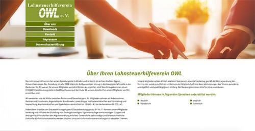 Firmenprofil von: Lohnsteuerhilfe in der Region Ostwestfalen-Lippe