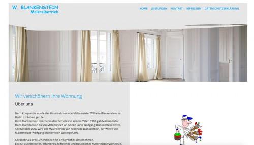 Firmenprofil von: Malerbetrieb Blankenstein in Berlin