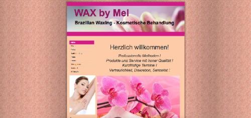 Firmenprofil von: Professionelle Kosmetik in Düsseldorf Wax by Mel Kosmetikstudio