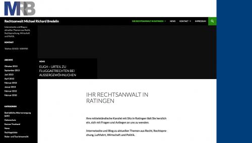 Firmenprofil von: Rechtsanwalt Michael Richard Bredelin in Ratingen