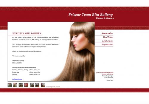Firmenprofil von: Friseursalon Friseur Team Rita Balleng in Wunstorf