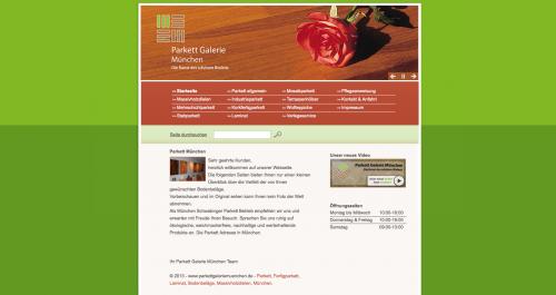 Firmenprofil von: Hochwertiges Mehrschichtparkett aus der Parkett Galerie in München