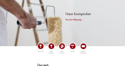 Firmenprofil von: Professionelle Stuckarbeiten in Ismaning: Malerbetrieb Hans Kornprobst