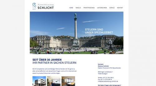 Firmenprofil von: Steuerberatung Schlicht in Stuttgart Sindelfingen